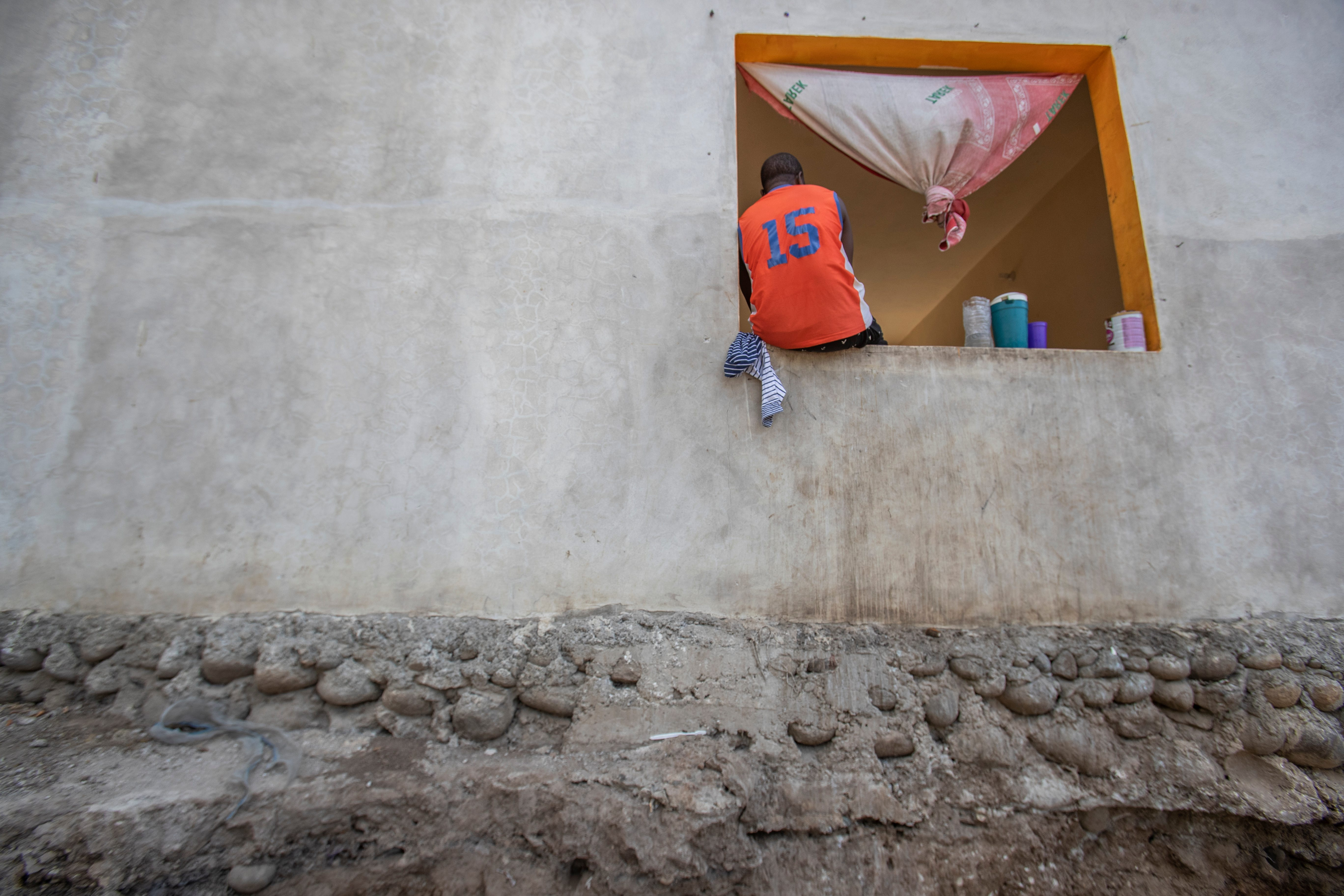 In late February, Haitian migrants at the shelter El Buen Pastor in Tapachula, Chiapas, Mexico, were waiting months for refugee status or asylum in Mexico.