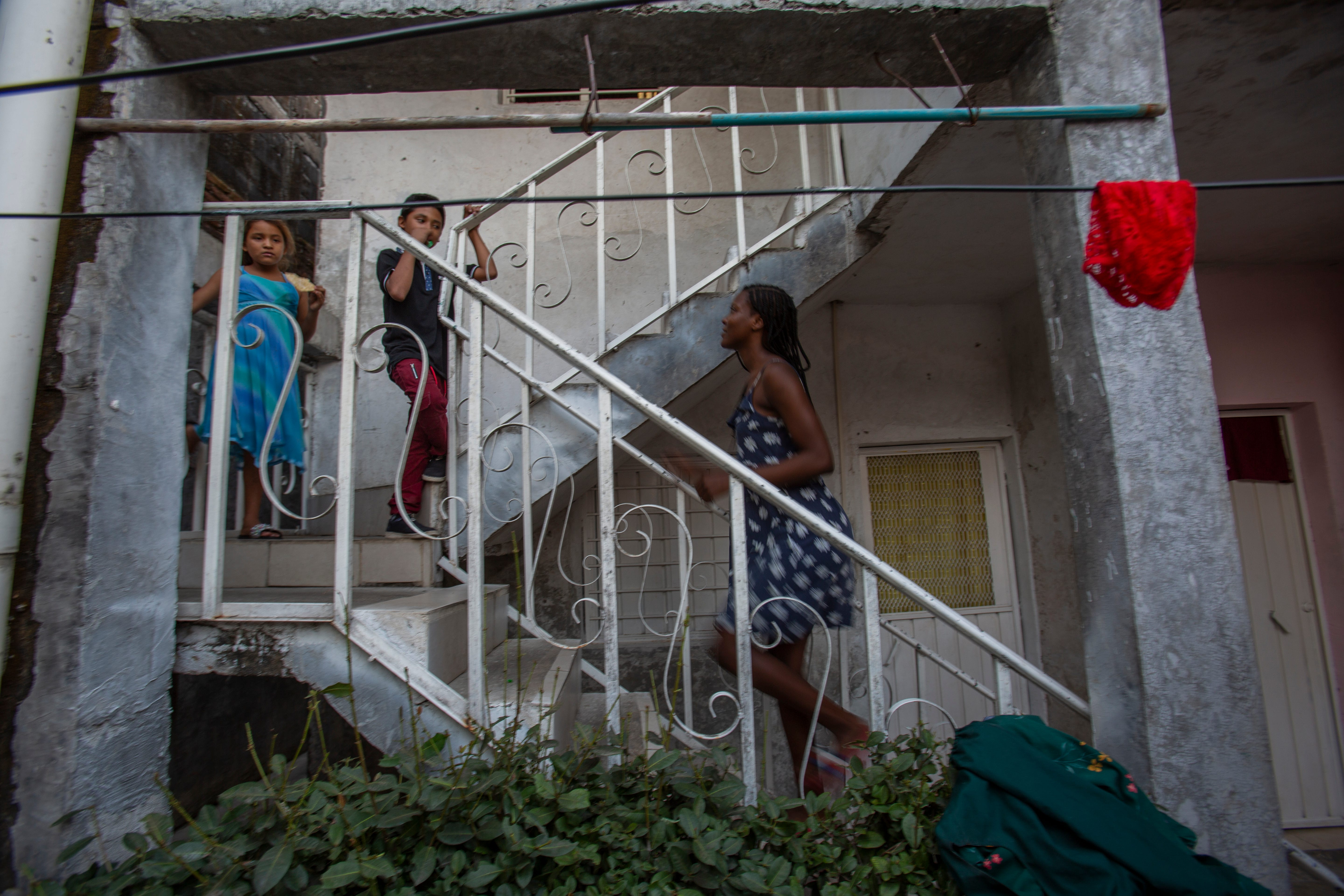 Briyanne Jeanniton, a Haitian migrant lived in Tapachula, Chiapas in 2020 before making her way to Monterrey, Mexico and eventually making her way into Florida in March of 2021.