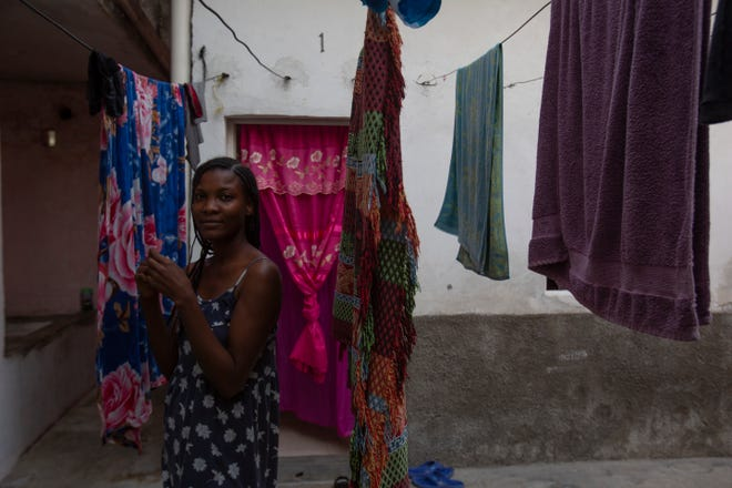 Briyanne Jeanniton, a Haitian migrant lived in Tapachula, Chiapas before traveling to Monterrey, Mexico, and eventually crossing into the U.S. and making her way to Florida in March of 2021. In the photo, Jeanniton is photographed in Chiapas in February of 2020.