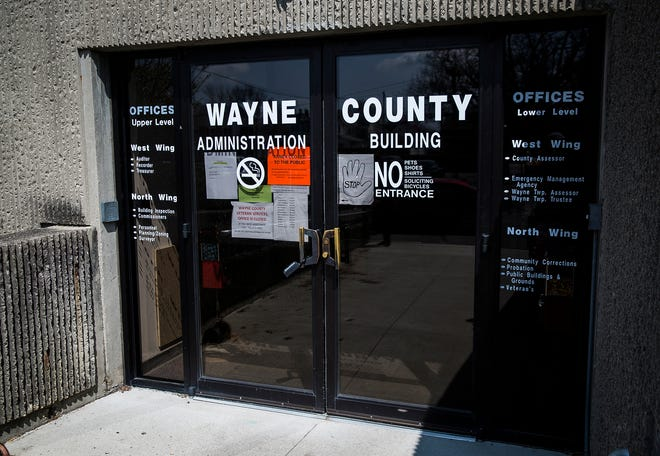 The Wayne County Administration Building is scheduled to reopen to the public on Monday, July 13.
