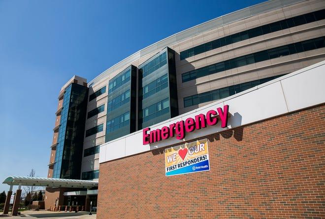 Reid Health Hospital in Richmond. PI File.