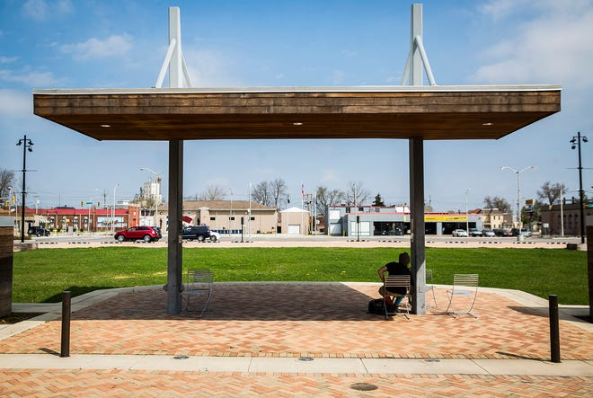 An ordinance under consideration by Richmond Common Council would permit alcohol sales by licensed, third-party vendors during events that take place at Jack Elstro Plaza, among other city parks.
