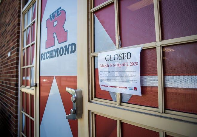 The Richmond Community Schools Administration Building. PI File.