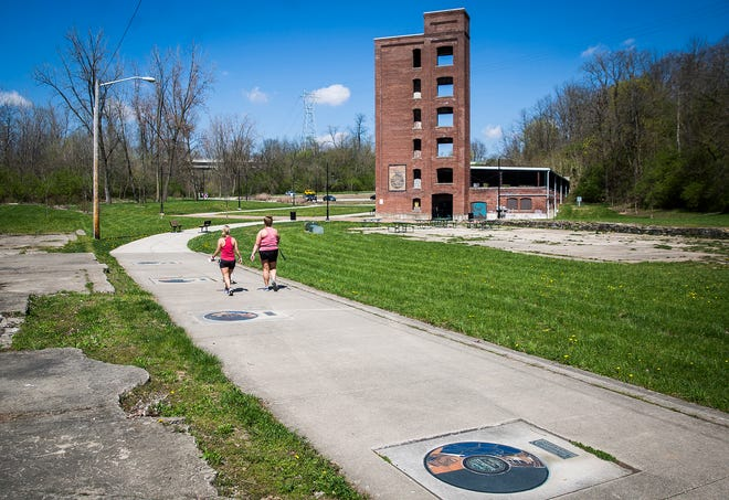 Richmond's new parks master plan includes an initiative to develop the Walk of Fame medallions in Whitewater Valley Gorge Park as a destination.