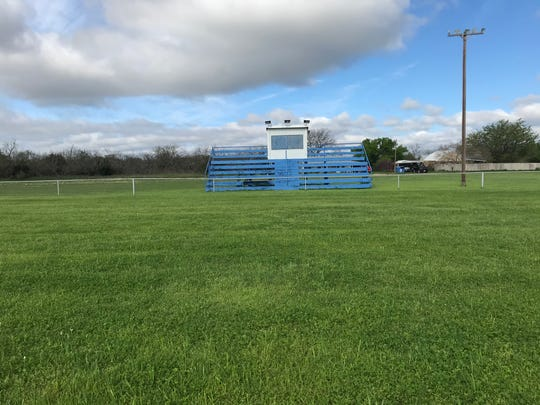 The home stands at Novice High School have been empty since the football team's final season in 2011.
