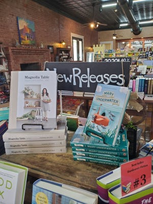 Signed copies of Mary Underwater, Shannon Doleski's first book, are available at Old Town Books, 506 S. Chadbourne St.