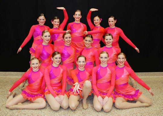 The 2010 Cathedral Dance Team won state titles in jazz and kick.