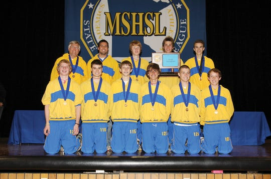 The 2011 Cathedral Boys Cross Country team won their second state title in program history on Nov. 5, 2011.