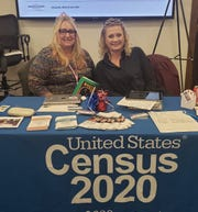 The U.S. 2020 Census is hiring. These Census representatives were recruiting during a recent Workforce Solutions North Texas job fair.