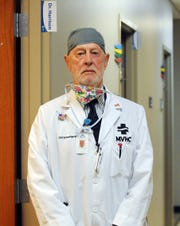 Dr. Carl Schowengerdt, an 89-year-old retired surgeon, remains active in the local medical field. He currently contributes to the MVHC and Rambo Memorial Health Center.