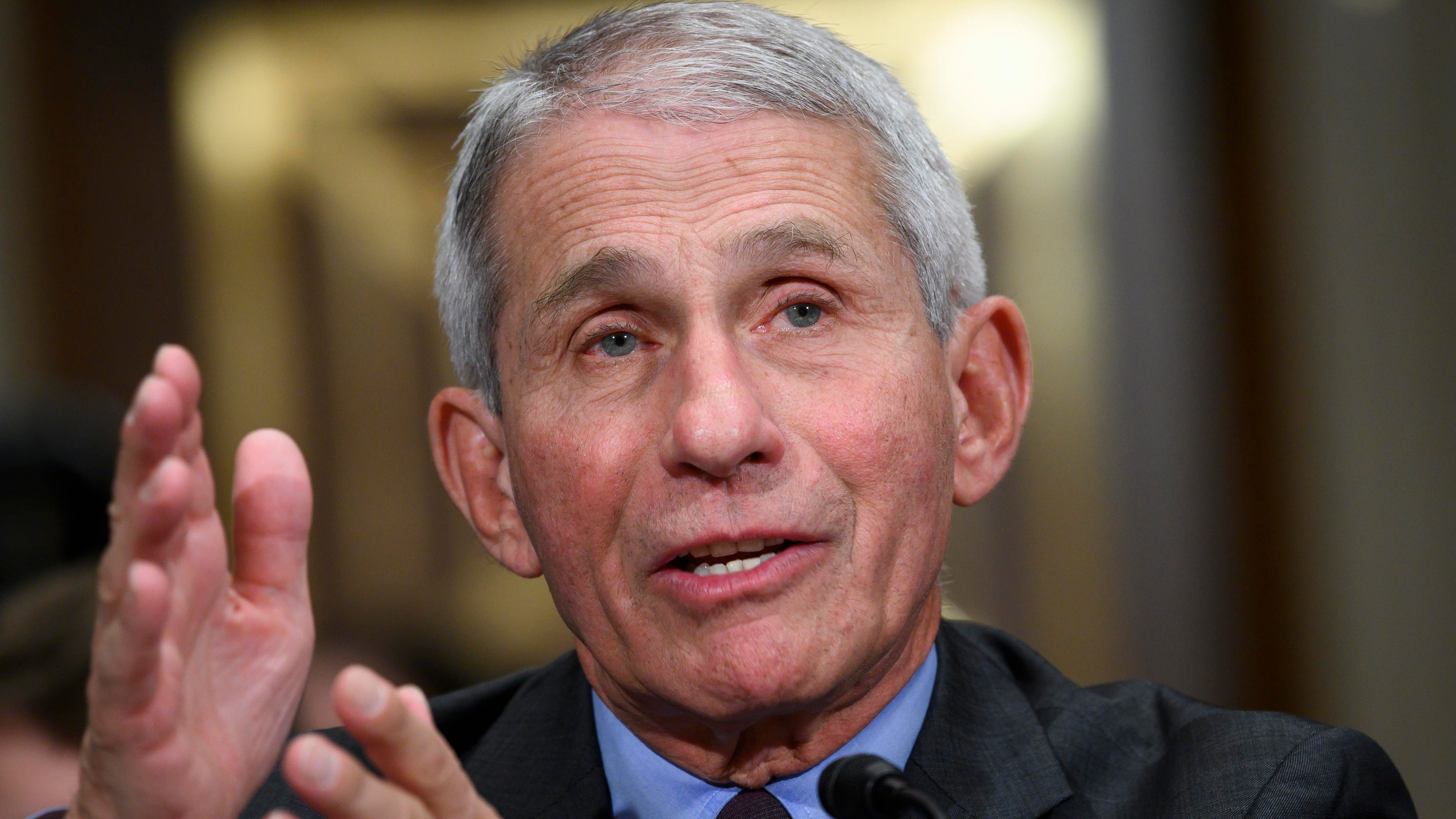 Fauci says the average American could get vaccinated against COVID-19 as soon as April: 'I would take the vaccine'