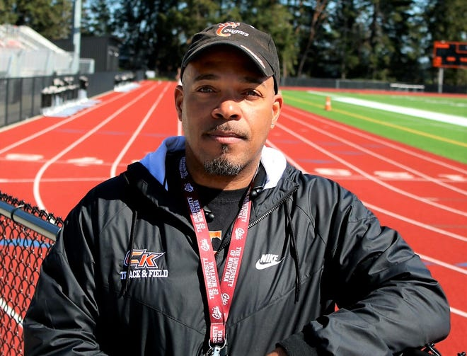 Central Kitsap track and field coach Neal Gaulden expected the Cougars' girls to contend for the Class 3A state title this spring. Gaulden is a first-year head coach after serving as an assistant last season.