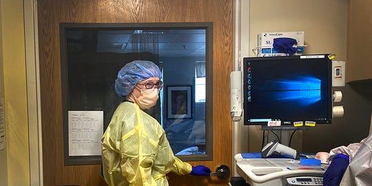 Megan O'Brien, a hospitalist at Gifford Medical Center in Randolph.