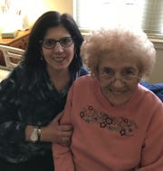 Cheryl Hanover of Cherry Hill, left, and her late mother, Sandy Rosen of Voorhees