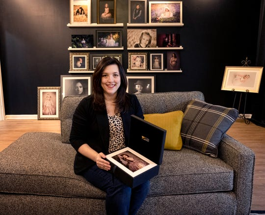 Kerra Fischer wanted to be a photographer since high school and now she is owner of K. Fischer Portraits.