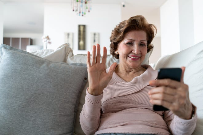 Technology can help seniors combat loneliness while practicing social distancing.