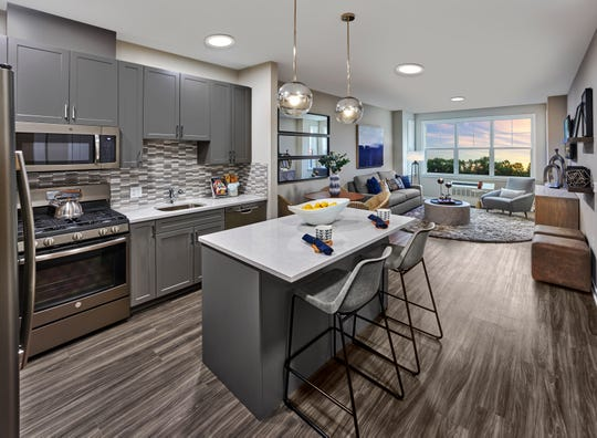 Centurion Union features 80 new one- and two-bedroom apartments in a five-story building with various amenities at 975 Bonnel Court, Union.