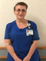 Maria Kalogiros is a respiratory therapist at Robert Wood Johnson University Hospital Somerset.