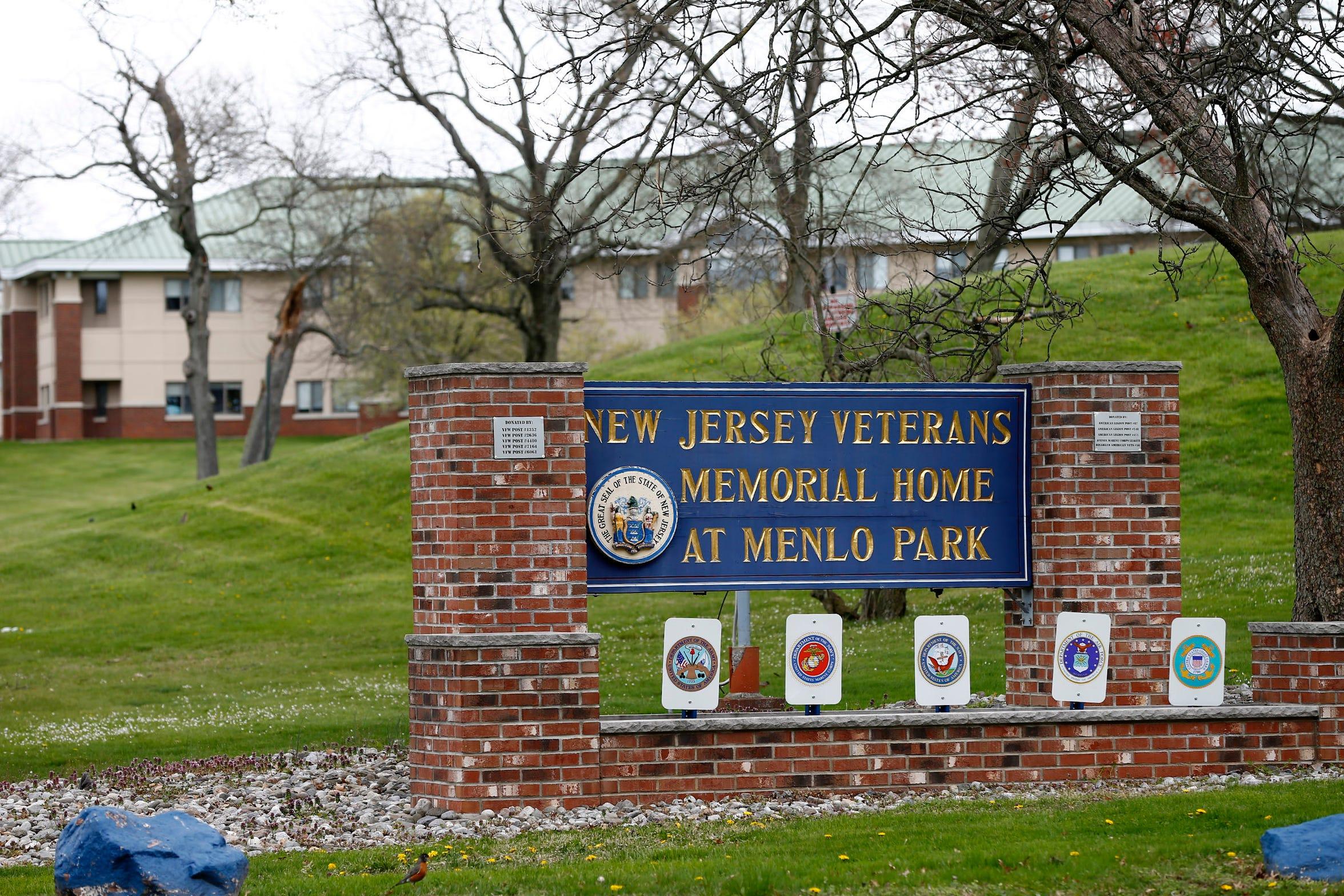 The NJ Veterans Memorial Home at Menlo Park shown Friday, April 10, 2020.