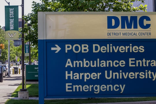 Part of the Detroit Medical Center campus in midtown Detroit.