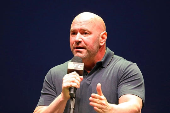 After defiantly vowing for weeks to maintain a regular schedule of fights, Dana White announced the decision to cease competition on ESPN, the UFC's broadcast partner.