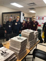 NeoPapalis and PizzaPapalis locations around Metro Detroit have been coordinating with area hospitals to feed front line workers.