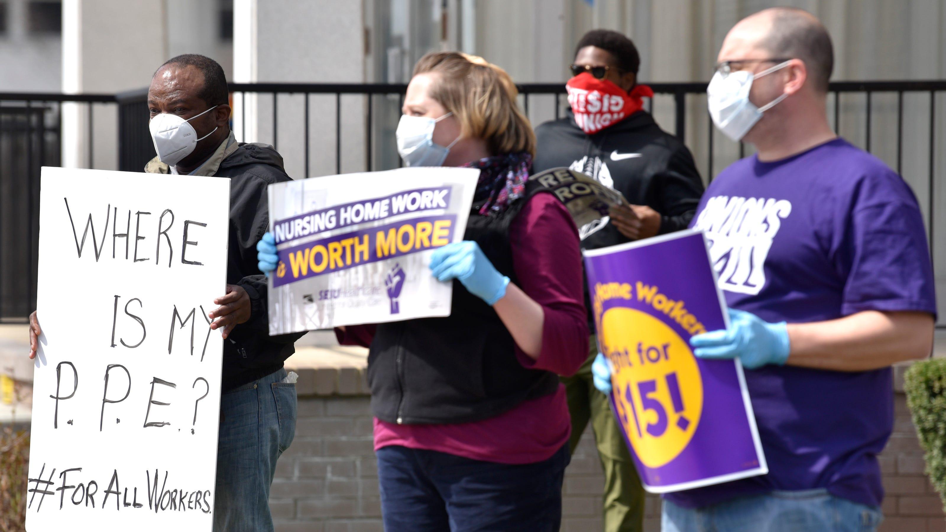 Workers At 18 Metro Detroit Nursing Homes Plan Strike