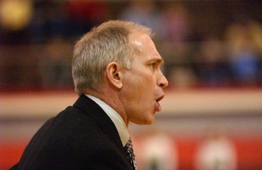 Harrison Basketball Coach Will Wyman
