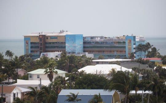 Lani Kai resort on Friday April, 10, 2020. The Fort Myers Beach resort is not taking reservations because of the novel coronavirus.