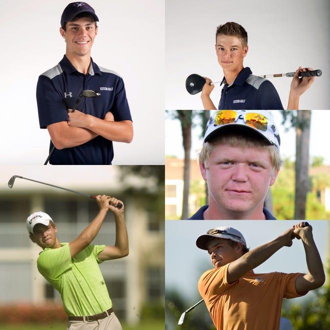 The News-Press All-Decade Boys Golf Team