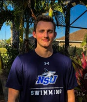 Bishop Verot swimmer Christian Vendetti is one of many Southwest Florida athletes who has been unable to hold a signing ceremony due to the coronavirus. Vendetti committed to Nova Southeastern in late March.