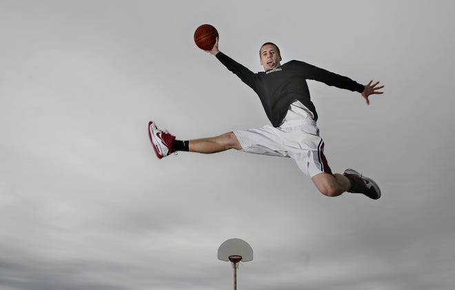 Former De Pere star Brandon Pritzl, pictured in 2010, scored 1,337 points during his prep career.