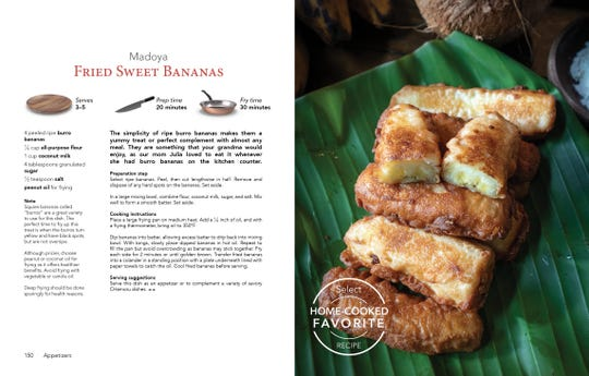 There's no shortage on Guam of the basic ingredient for this cooking banana recipe.