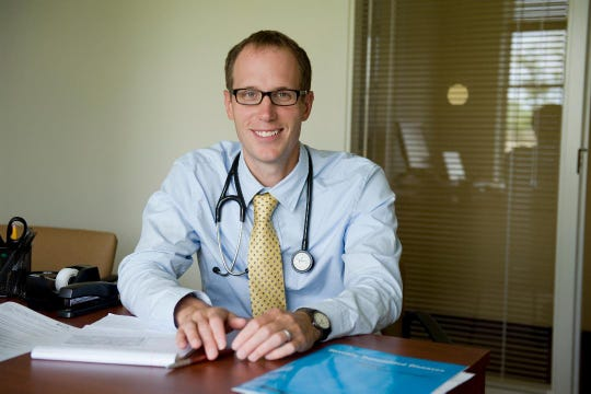 Dr. Douglas MacQueen, who specializes in infectious disease at Cayuga Medical Center, is on the local forefront of the current COVID-19 pandemic.