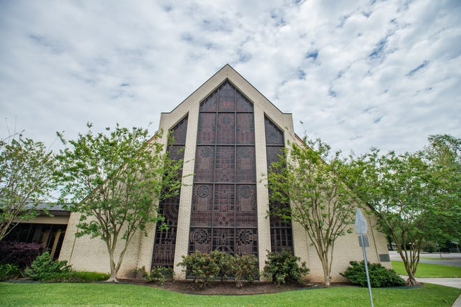Asbury Methodist Church in Lafayette