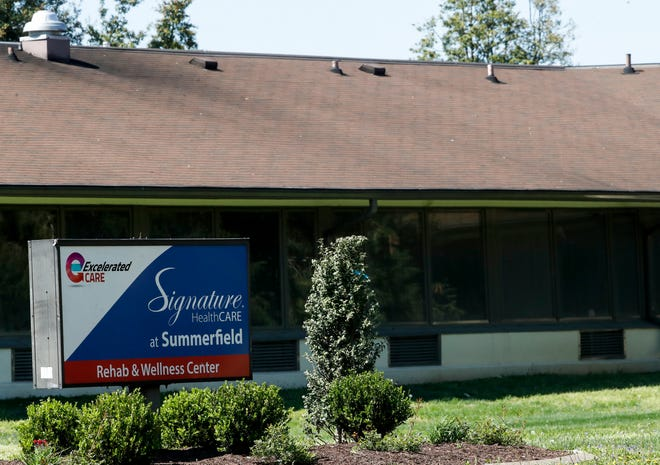 Signature operates multiple nursing homes and rehabilitation centers in Kentucky, including this Shively location. April 10, 2020