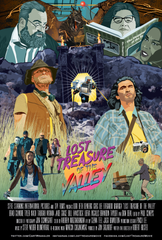 """A poster for the film """"Lost Treasure of the Valley."""""""