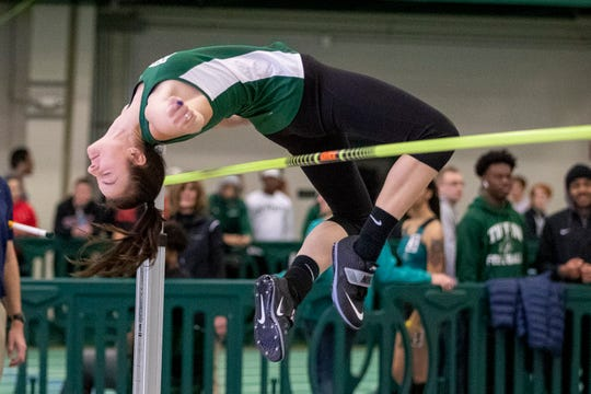 Galion grad Marisa Gwinner had the nation's top high jump at the NCAA Division II level when the indoor nationals were canceled because of the pandemic