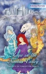 """""""Maya in the Nimbus Valley"""" is a new book from Fredericktown author Albina Riley."""