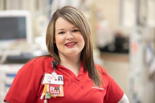 Kaci Mowery, RN, emergency department.