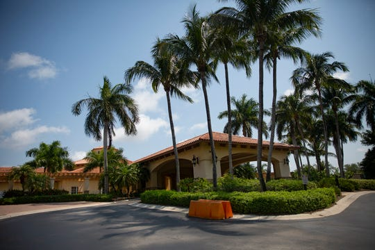 Tiburón Golf Club is pictured on Wednesday, April 10, 2020, in North Naples.