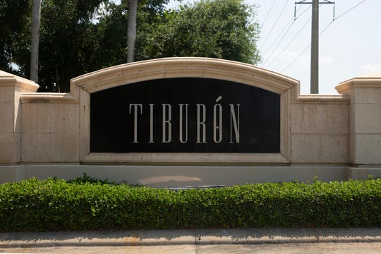 Tiburón Golf Club is pictured on Wednesday, April 10, 2020 in North Naples.