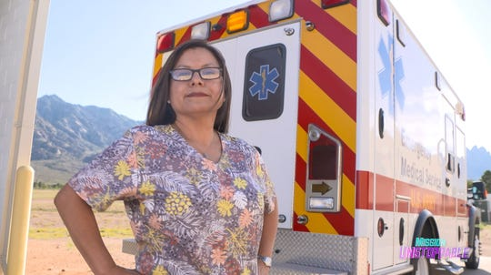 Elizabeth Ortiz is a decontamination nurse who specializes in treating radiological accidents at White Sands Missile Range.