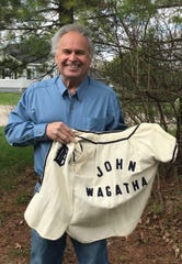 The Tigers gave Wagatha his own jersey, which he still has.