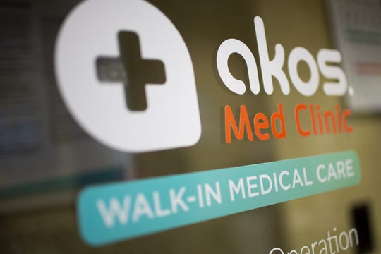An Akos medical clinic in Glendale on April 2, 2020. Dr. Anand co-founded the Akos clinics.