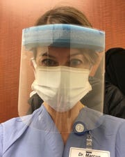 The masks being manufactured by Mister Bobbin Embroidery are used by private citizens and healthcare workers alike.