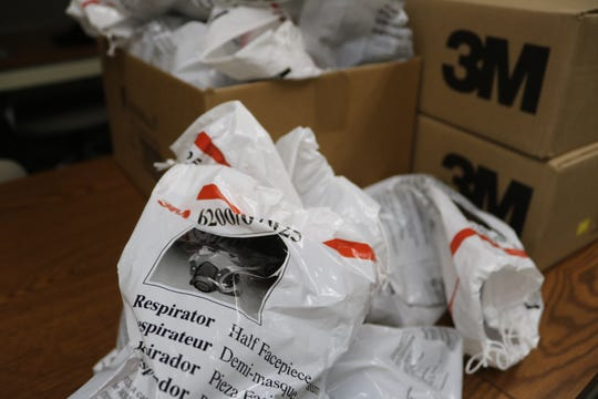 Ottawa County has several boxes of N95 respirator masks from 3M ready to go as the number of confirmed cases of COVID-19 continues to grow locally, throughout Ohio and nationwide.