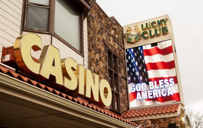 The Lucky Club Casino in Yerington.