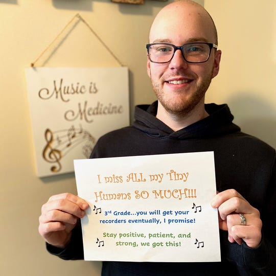 John Wixted is a 25-year-old music teacher at Pemberton Elementary School.