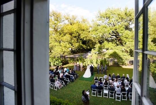 Weddings have been postponed because of the coronvirus.